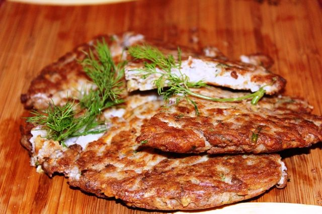 Georgian Potato Walnut Pancake